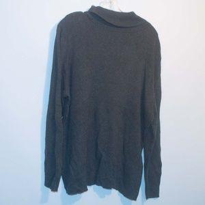 Lane Bryant Grey turtle neck sweater